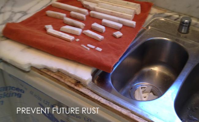 countertop-rust-prevention