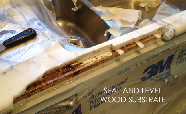 seal-and-level-wood-substrate