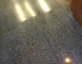 Carpet-Covered Concrete Polished